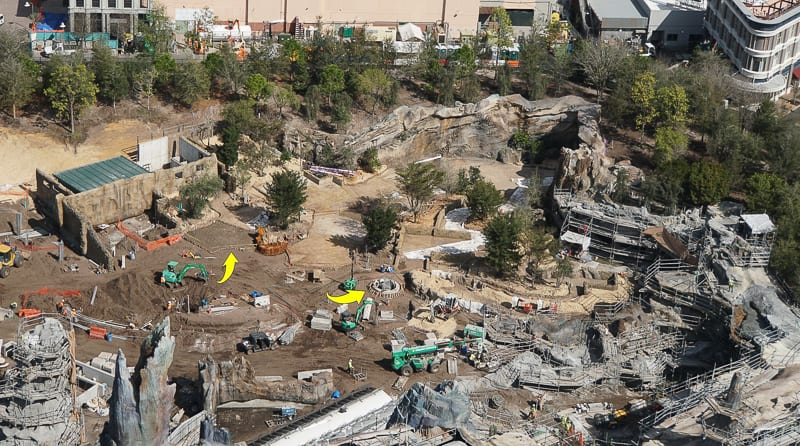 Galaxy's Edge Update February 2019 Rise of the Resistance area