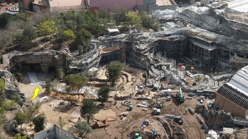Galaxy's Edge Update February 2019 Rise of the Resistance entrance