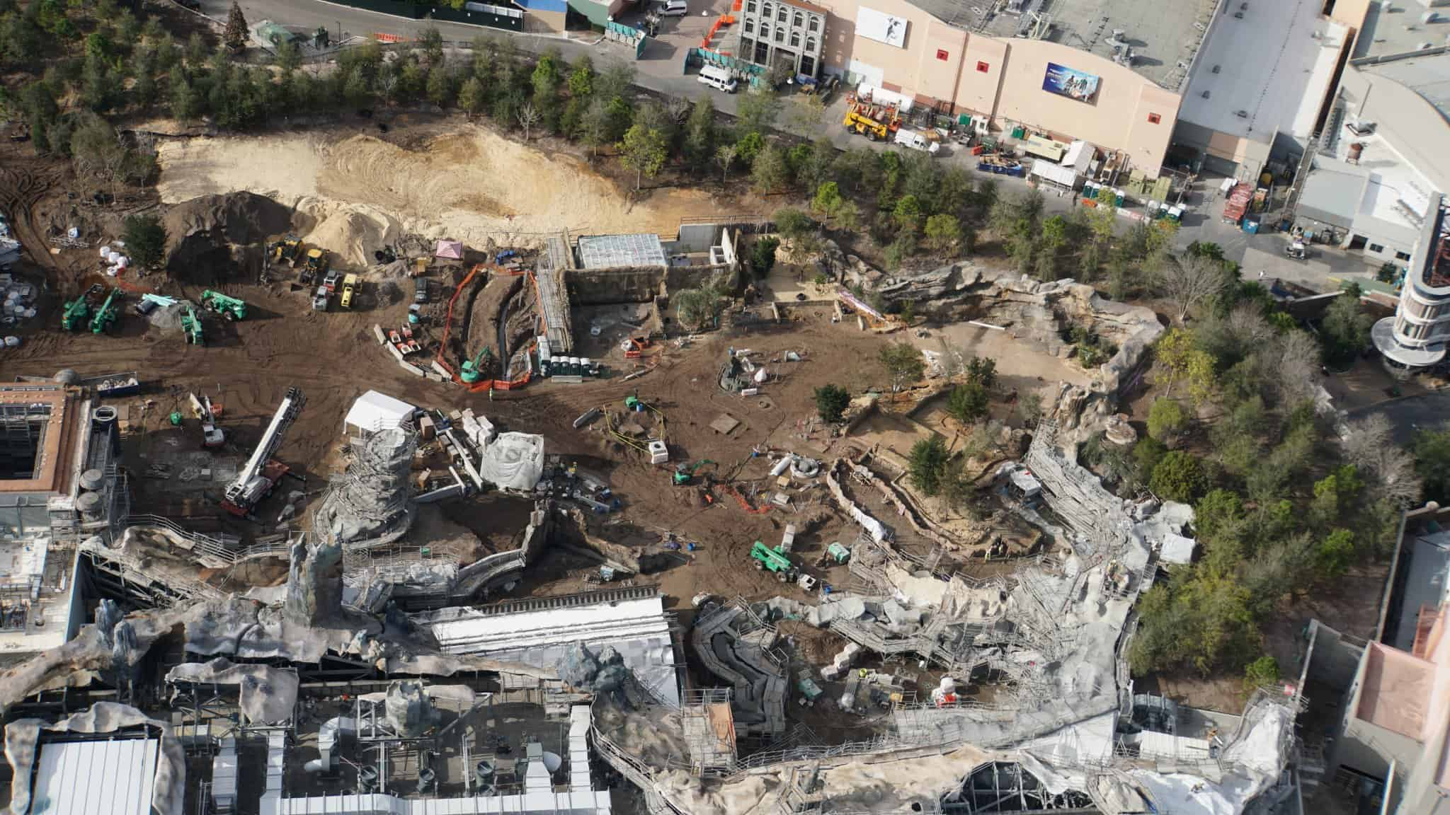 Galaxy's Edge Update February 2019 berm rise of the resistance
