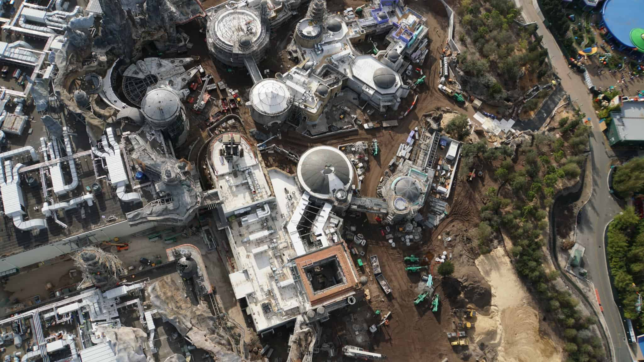 Galaxy's Edge Update February 2019 Black Spire Outpost top view