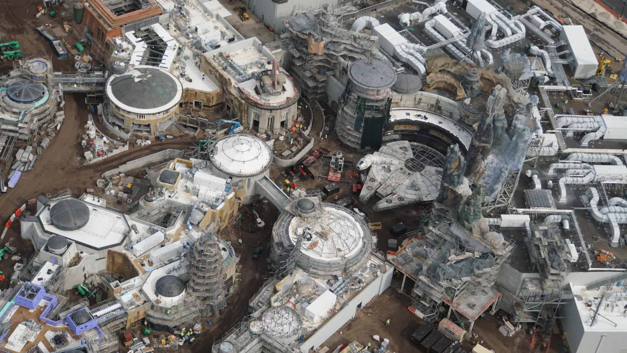 Galaxy's Edge Update February 2019 Black Spire Outpost and Millennium Falcon