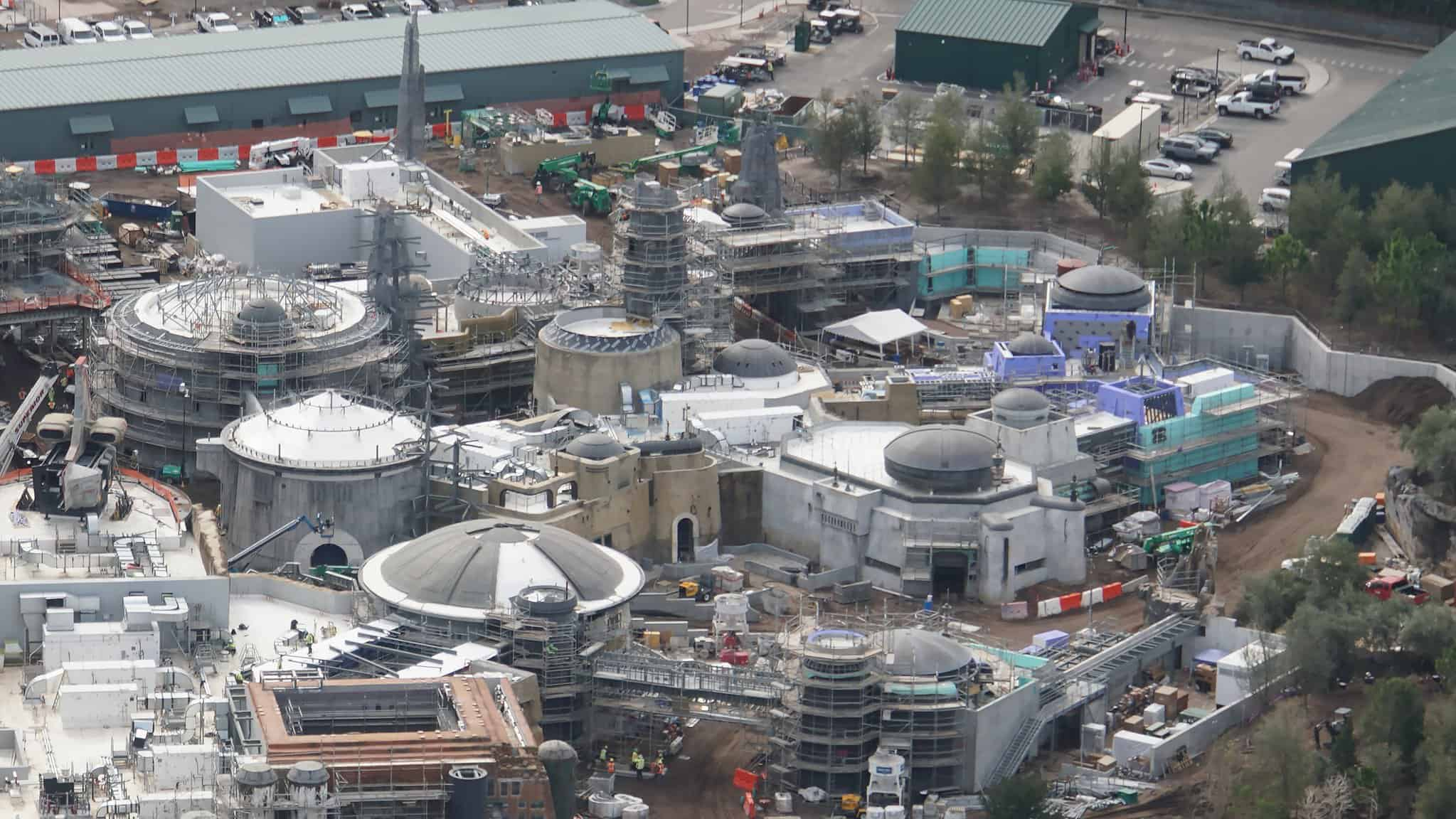 Galaxy's Edge Update February 2019 Black Spire Outpost side view