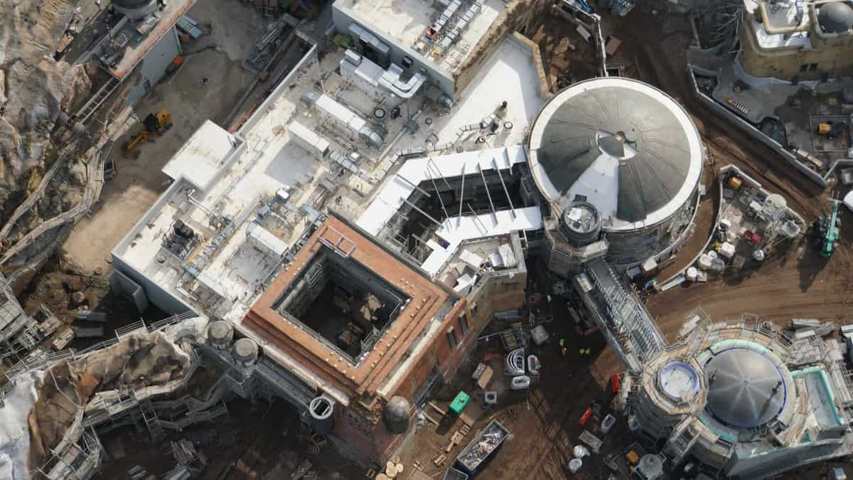 Galaxy's Edge Update February 2019 Black Spire Outpost building aerial