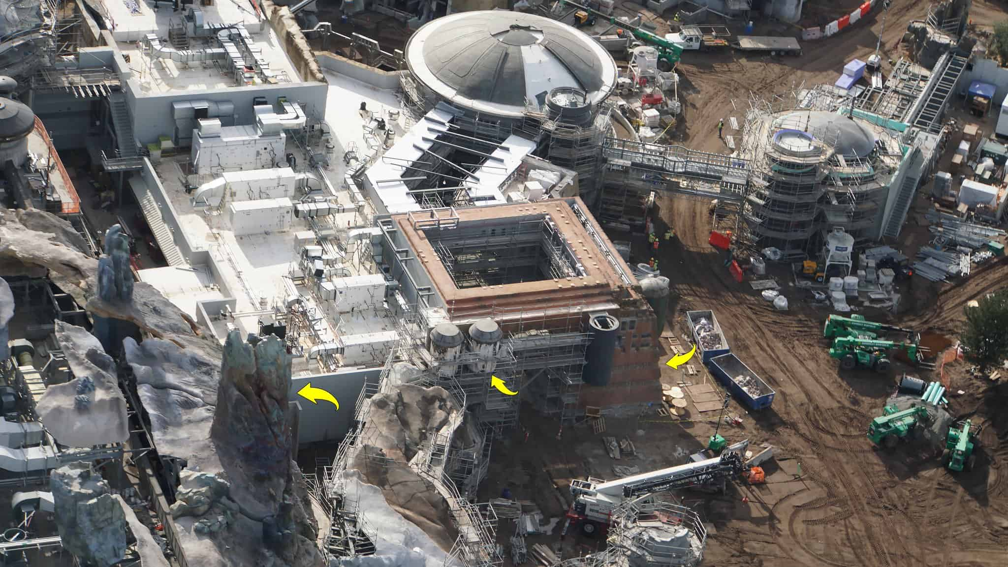 Galaxy's Edge Update February 2019 Black Spire Outpost building details