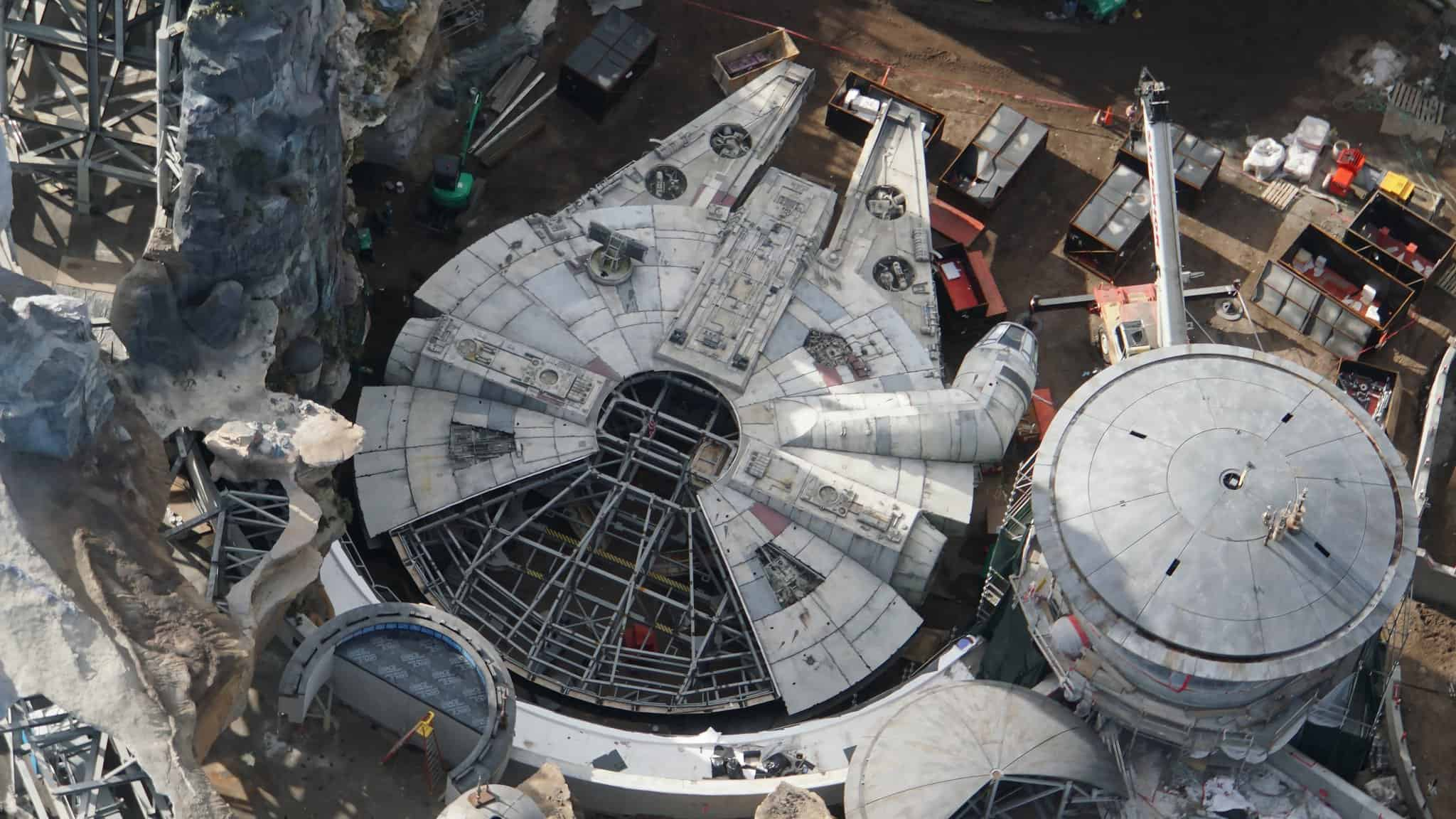 Galaxy's Edge Update February 2019 Millennium Falcon theming