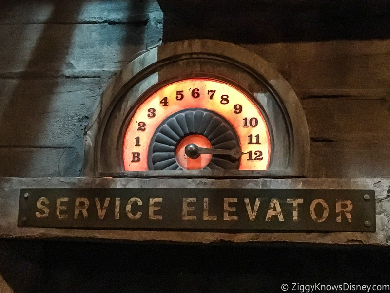 Tower of Terror elevator