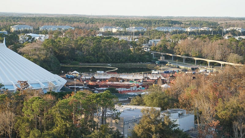 Tron Roller Coaster Construction Update February 2019 Magic Kingdom