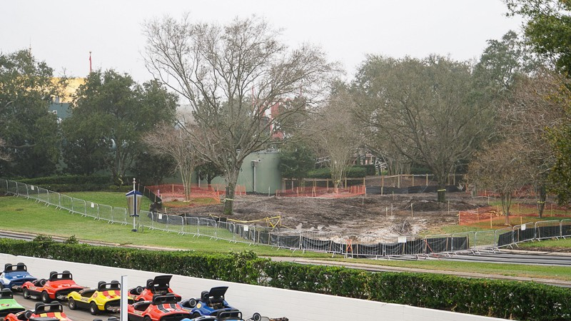 Tron Roller Coaster Construction Update February 2019 Magic Kingdom Tomorrowland Speedway