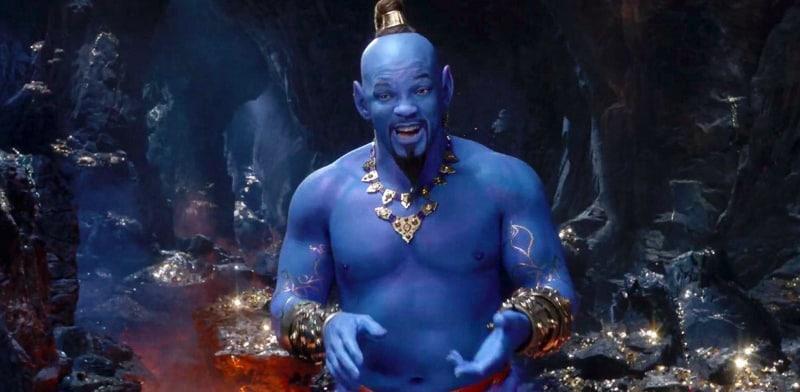 Will Smith as Blue Genie Aladdin
