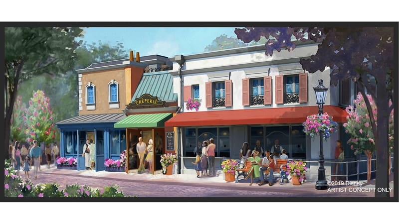 Authentic Creperie coming to France Pavilion in Epcot