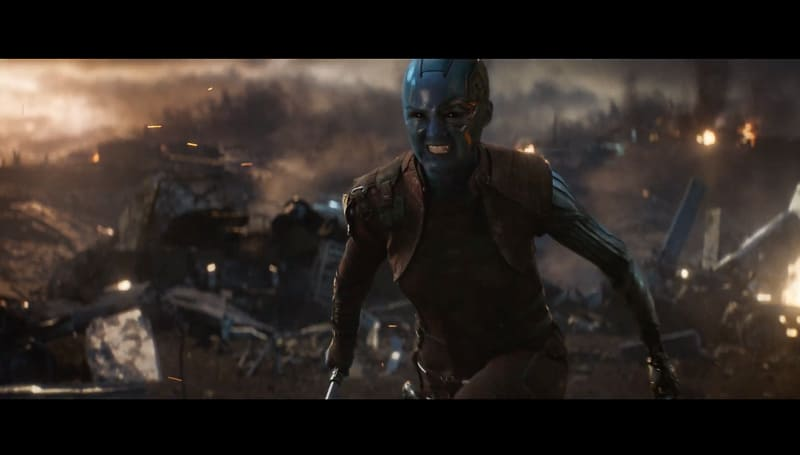 Avengers End Game official trailer Nebula