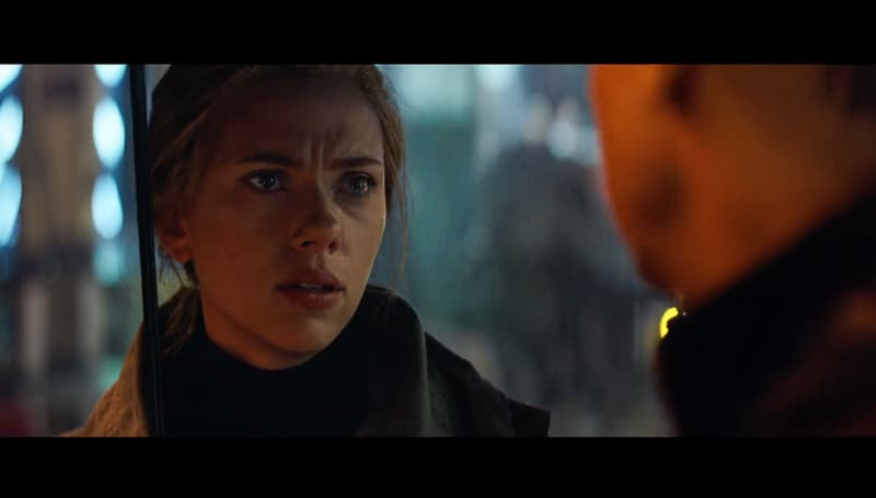 Avengers End Game official trailer Black Widow