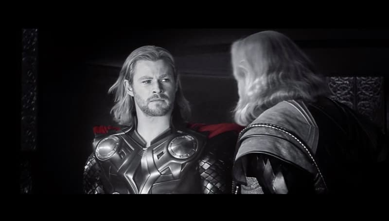 Avengers End Game official trailer Thor and Odin