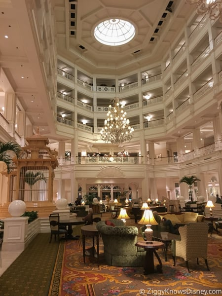 Grand Floridian Resort Lobby