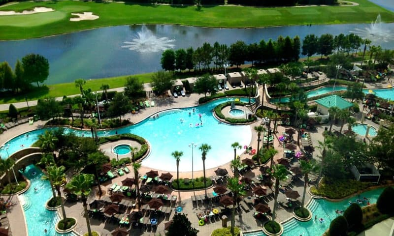 more offsite hotels given Fastpass and extra magic hours Hilton Orlando Bonnet Creek