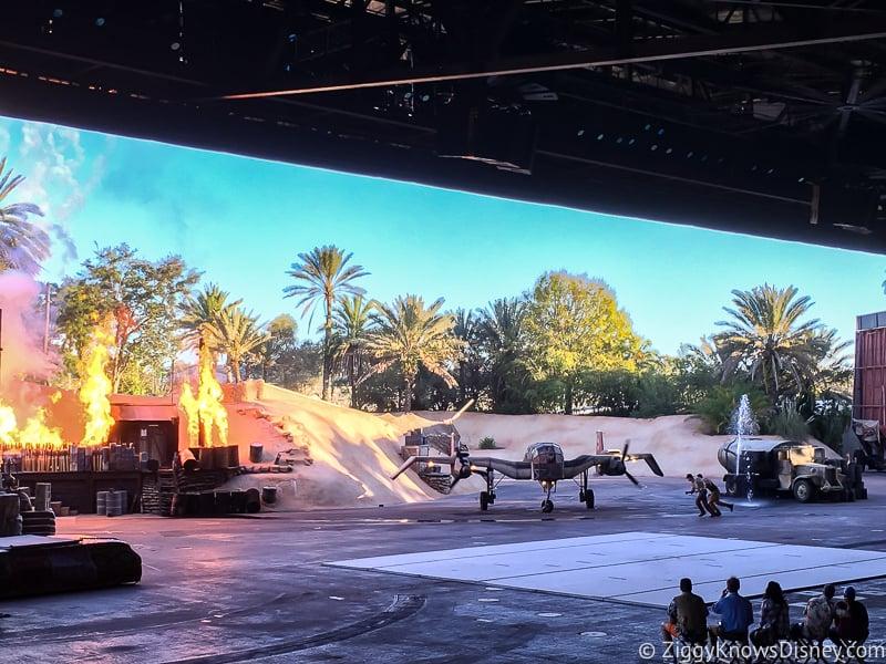 Indiana Jone Epic Stunt Spectacular show scene