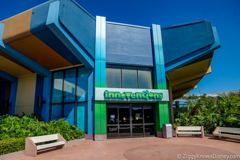 Epcot Innoventions pavilion