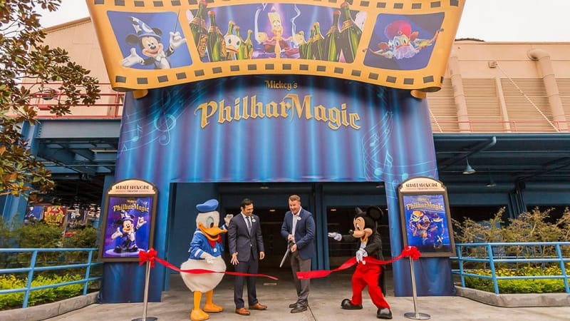 Mickey's Philharmagic Open Disney California Adventure