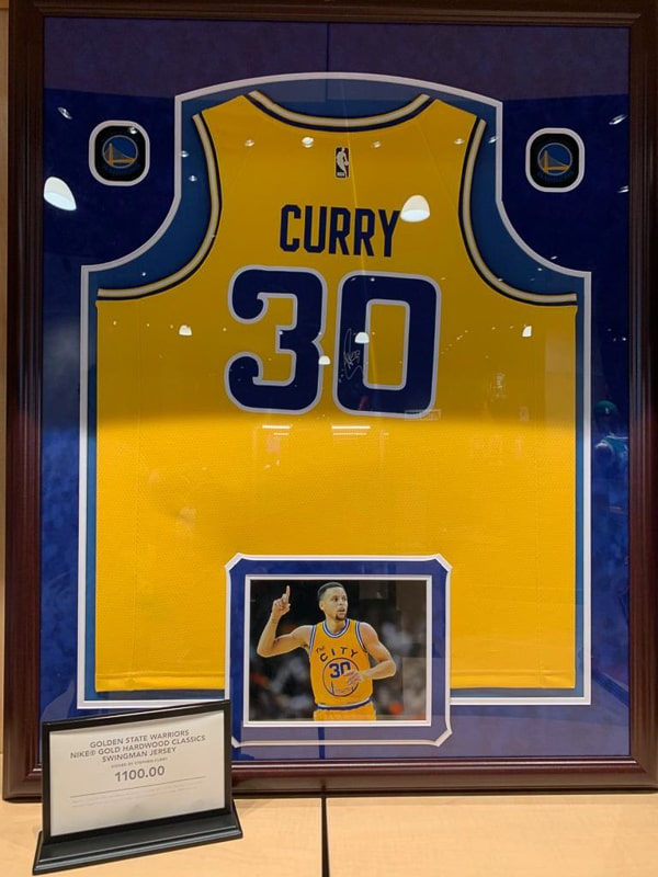 NBA Experience Store Stef Curry