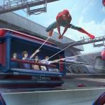 Spider-Man Ride Disney California Adventure concept art