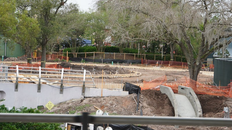 Tron Roller Coaster Construction Update March 2019 Tomorrowland Speedway progress