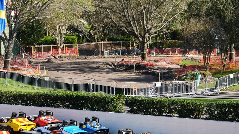 TRON Roller Coaster Construction Update March 2019