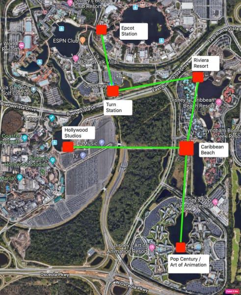 Disney Skyliner Gondola Details - Opening Date, Route Map ...