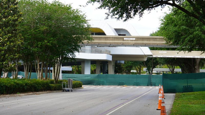 Epcot Entrance Construction Updates April 2019