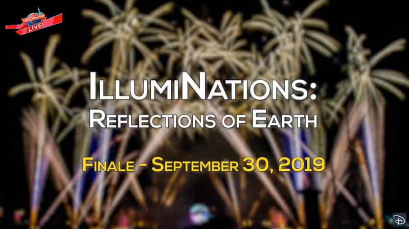 Last Epcot Illuminations Reflections of Earth Show