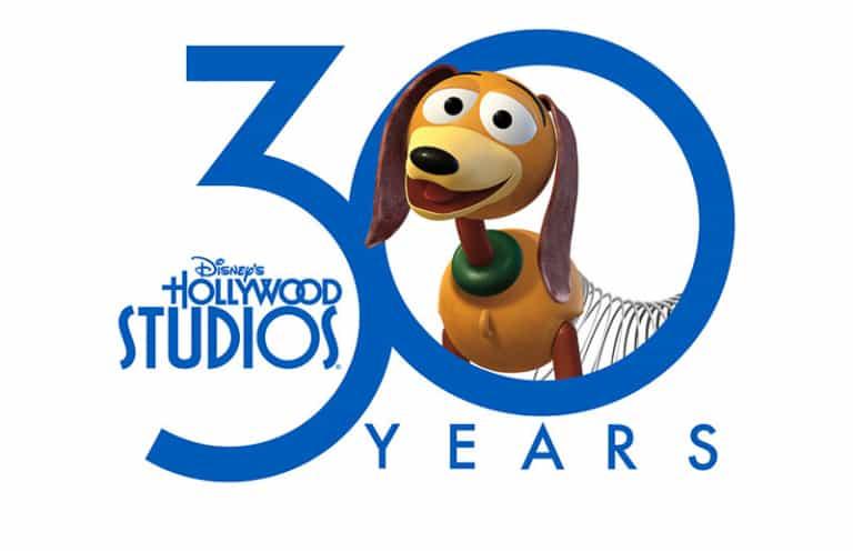 Hollywood Studios 30th Anniversary Celebration Logo