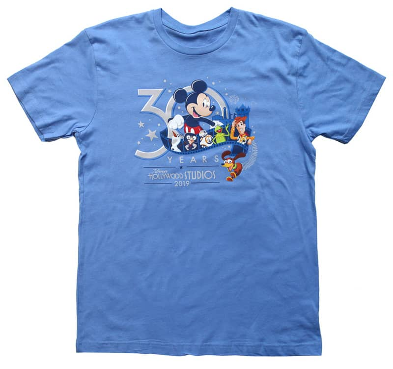 Hollywood Studios 30th Anniversary Celebration shirt