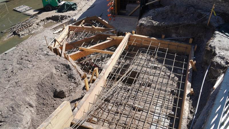 Magic Kingdom Walkway Cinderella Castle Update April 2019 concrete forms