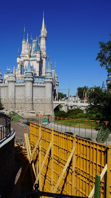 Magic Kingdom Walkway Cinderella Castle Update April 2019