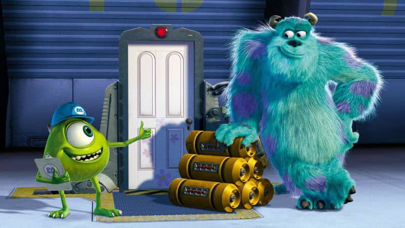 Monsters Inc Mike and Sulley
