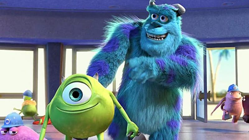 Mike and Sulley Monsters Inc Monsters at Work