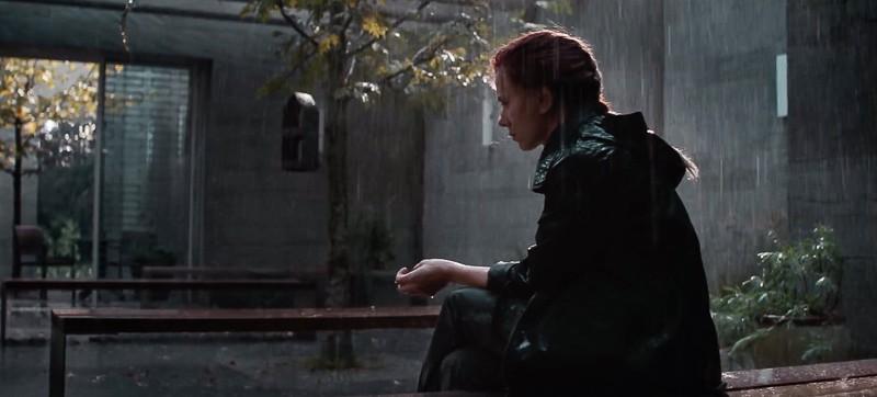 Avengers End Game trailer Black Widow in the rain