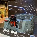 Star Wars Rise of the Resistance Ride vehicle