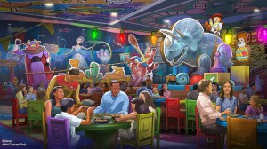 concept art for Roundup Rodeo BBQ in Toy Story Land