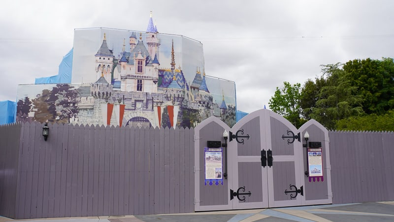 Sleeping Beauty Castle Disneyland updates May 2019