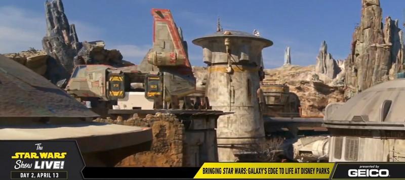 Star Wars Galaxy's Edge Preview Star Wars Celebration