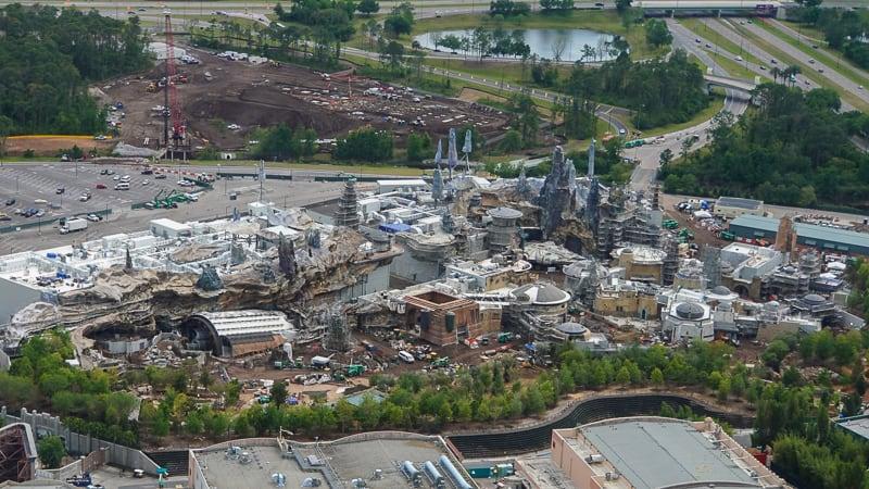 Star Wars Hotel Aerial View update April 2019