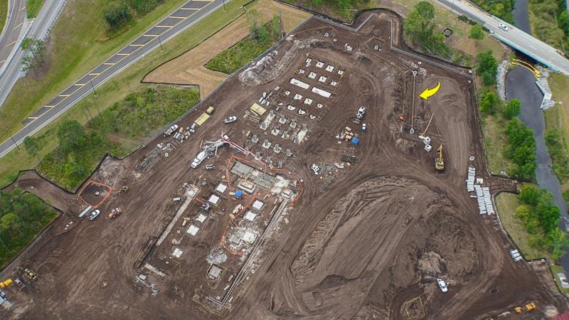 Star Wars Hotel construction update April 2019