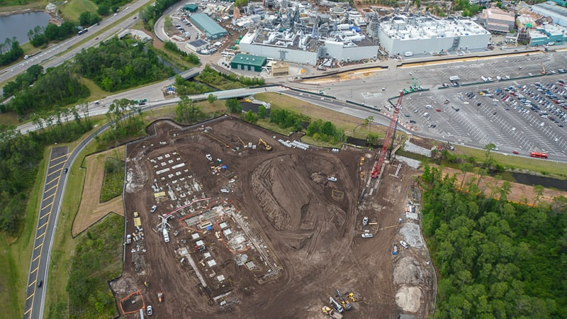 vertical construction on Star Wars Hotel update April 2019