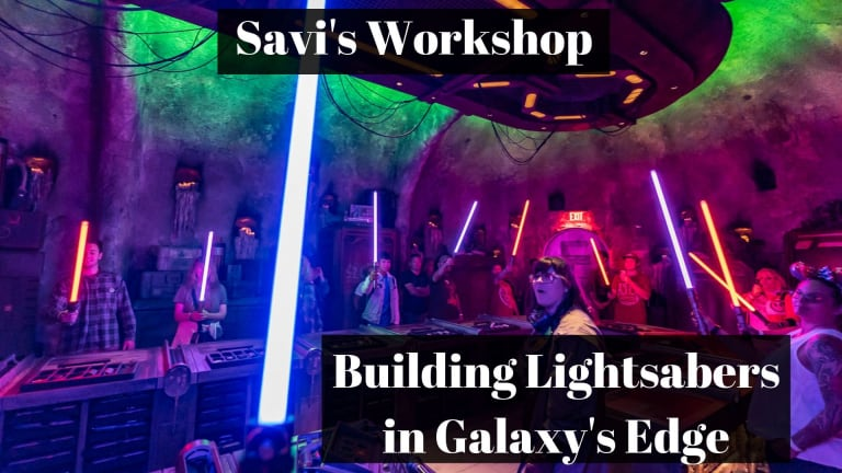Savi's Workshop Handbuilt Lightsaber Experience Star Wars Galaxy's Edge