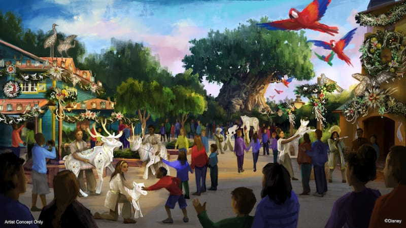 Animal Kingdom Holiday Festival Concept Art