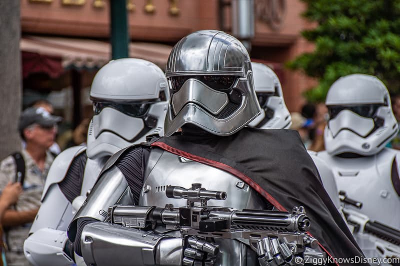 Captain Phasma in Hollywood Studios