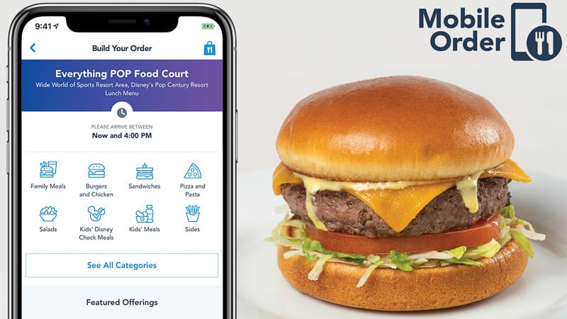 Disney Mobile Order service coming to Disney World Resort Hotels