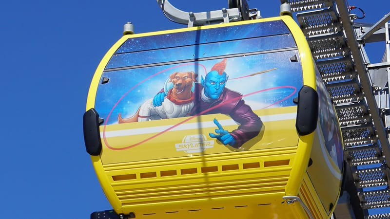 Disney Skyliner Gondola Construction Update May 2019 guardians of the galaxy gondola