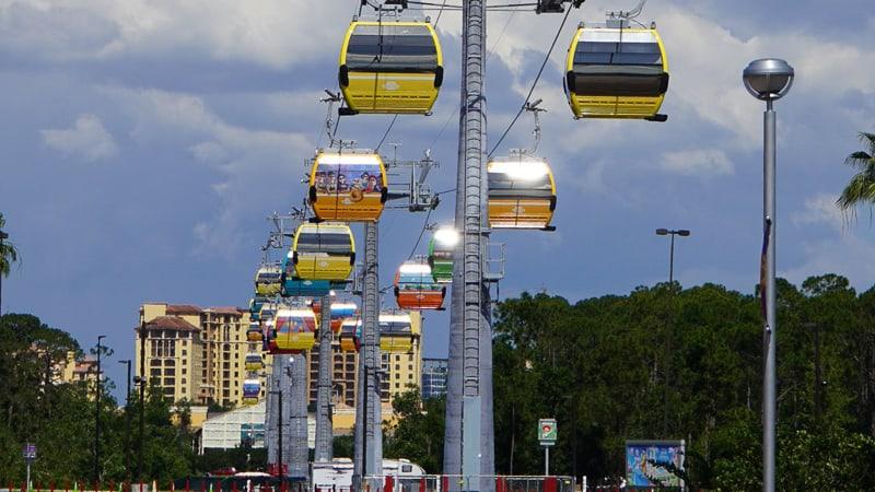 Disney Skyliner Gondola Construction Update May 2019