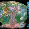 Disneyland Guidemap with Star Wars Galaxy's Edge